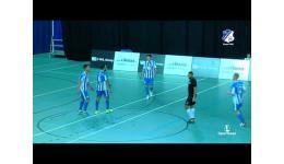Embedded thumbnail for Futsal Eindhoven laat geen spaander heel van Watregras, het wint met 14-4