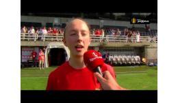 Embedded thumbnail for Standard pakt ook bij de vrouwen de BVB na 0-2 winst vs KRC Genk