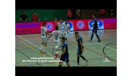 Embedded thumbnail for FT Antwerpen en Celtic Houthalen maken propaganda voor het Futsal