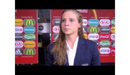 Embedded thumbnail for Duitsland vs Italië 2-1 reactie van doelvrouw Laura Giuliani Italië