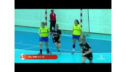 Embedded thumbnail for Uilenspiegel verliest van Olse Merksem Dames handbal in de BVB