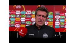 Embedded thumbnail for Coach Nils Nielsen Denemarken na plaatsing finale EK vrouwen
