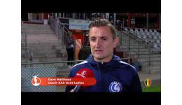 Embedded thumbnail for KAA Gent vs KSK Heist kan je hier bekijken....9-1
