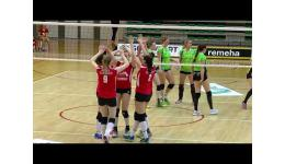 Embedded thumbnail for Antwerp Ladies vs Oostende Volleybal verslag Sportbeat