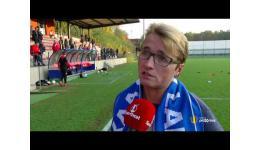 Embedded thumbnail for Voorzitter AA Gent Ladies aan het woord na 2-0 verlies op Standard