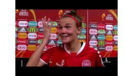 Embedded thumbnail for Denemarken na strafschoppen vs Oostenrijk naar EK Final Woman