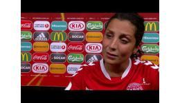 Embedded thumbnail for Nadia Nadim plaats zich voor finale EK Woman vs Oostenrijk