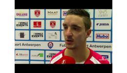 Embedded thumbnail for FT Antwerpen maat te sterk voor Eisden Dorp 11-3 eerste reacties